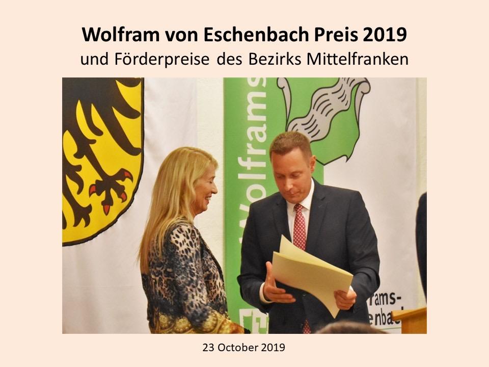 Wolfram-von-Eschenbach Award 20191023 for Hilde-Foto-2